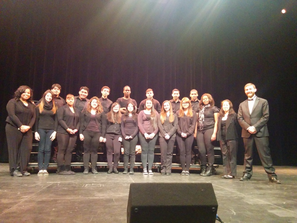 Schurz Advanced Mixed Chorus at All-City Festival, 2014