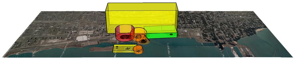Sample UAV Geofencing