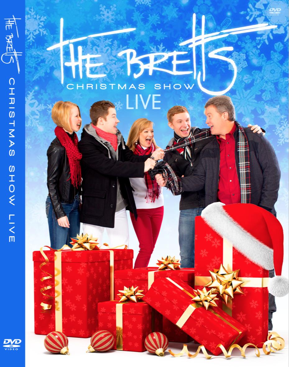 DVD - The Bretts Christmas Show — The Bretts Show