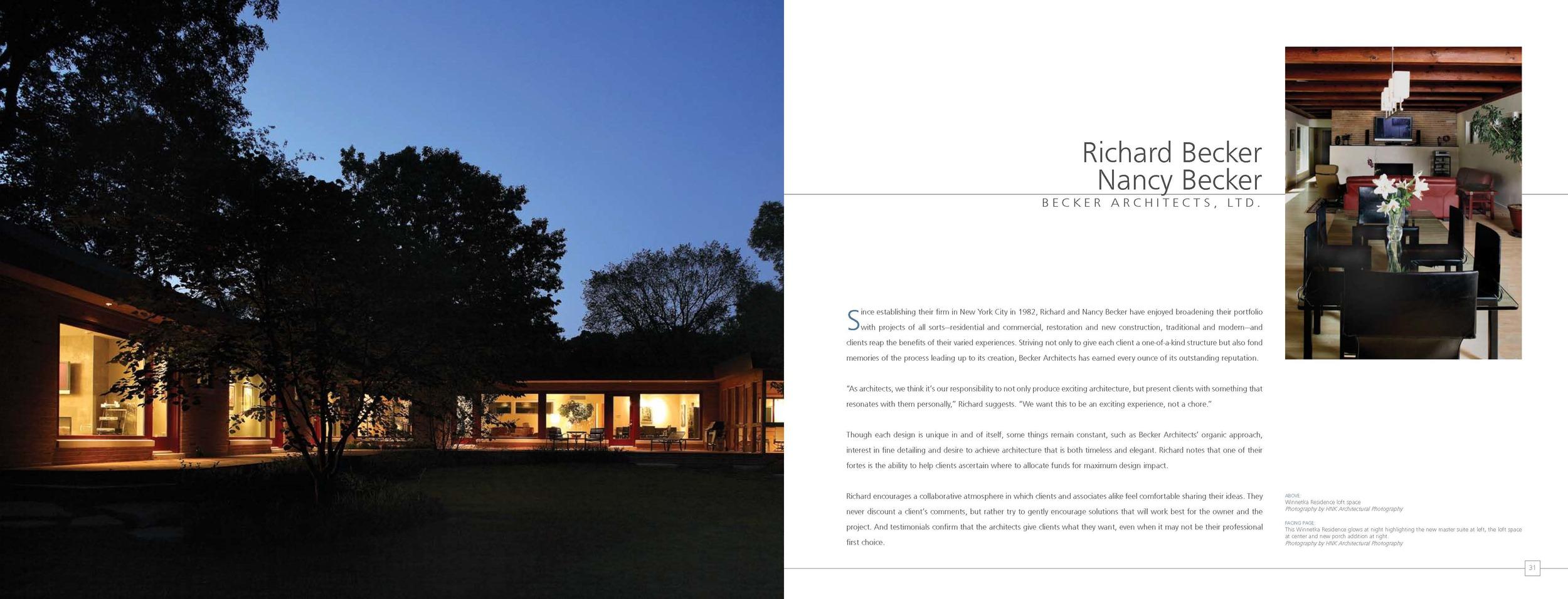 Dream Homes Chicago — Becker Architects