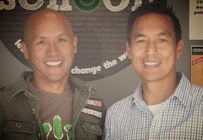 Hansel (left) and Wayne
