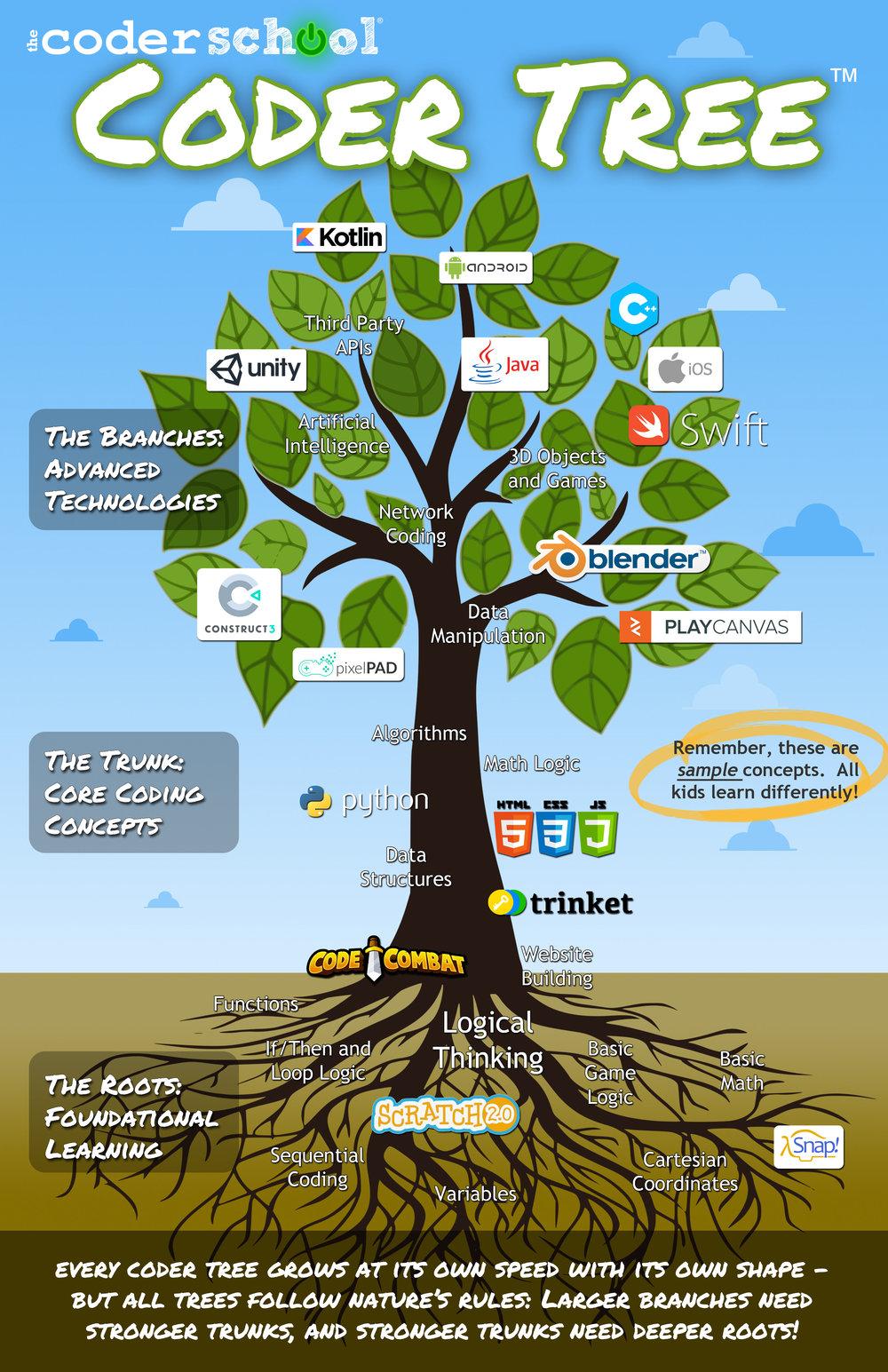 theCoderSchool's Coder Tree®