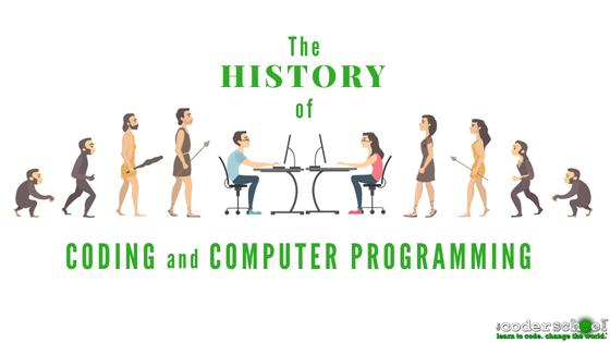 History of Coding Diagram