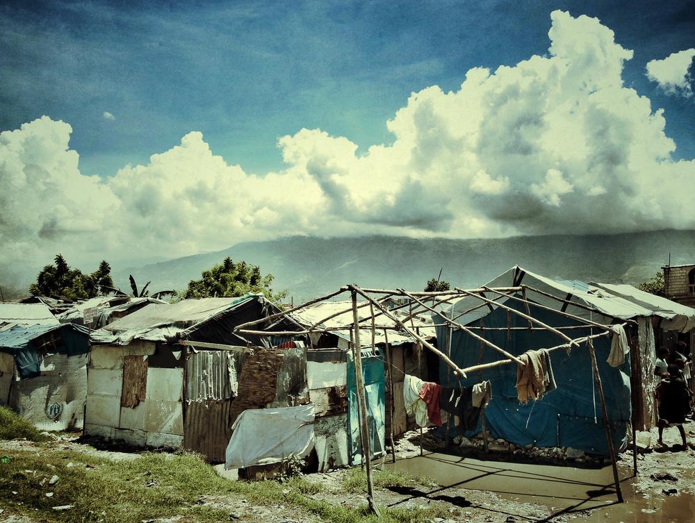 Shanty dwelling, Cité Soleil