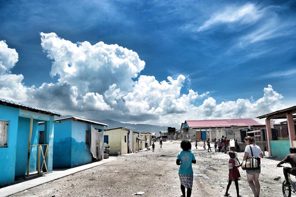 Cholera clinics, Cité Soleil