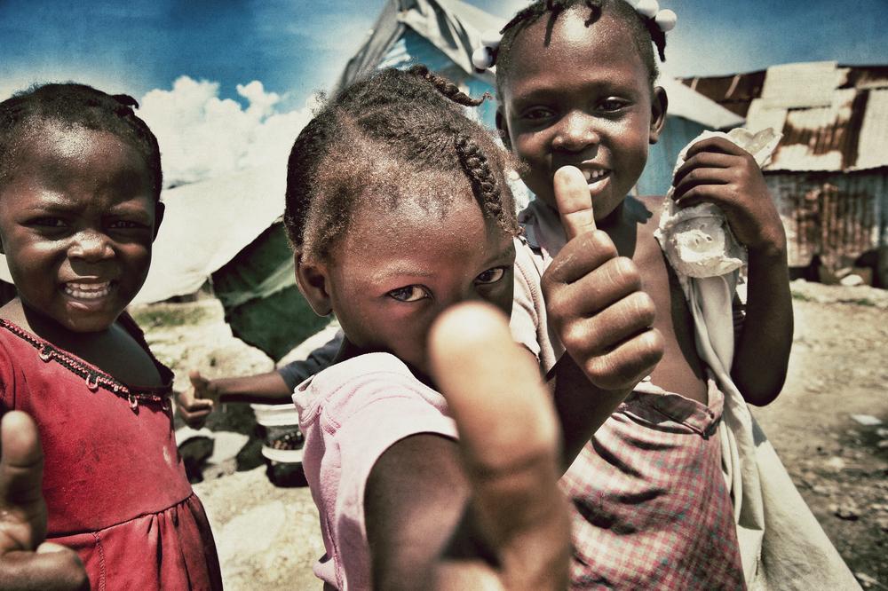 Children, Cité Soleil