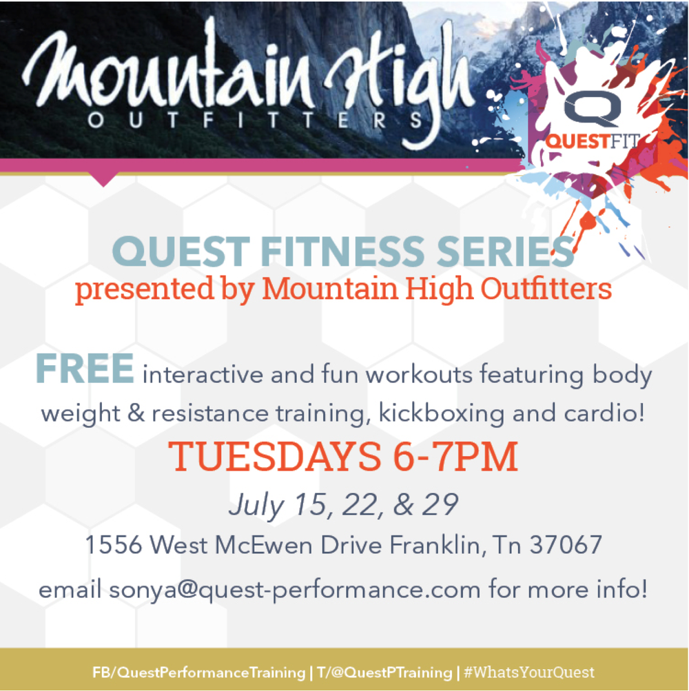 Quest Fitness Series