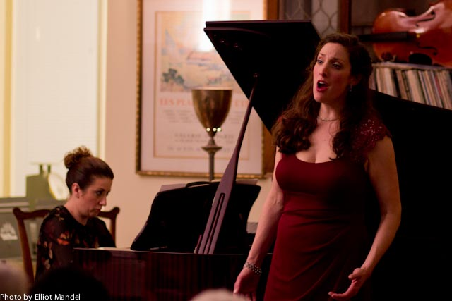 Soprano Deborah Selig and pianist Shannon McGinnis