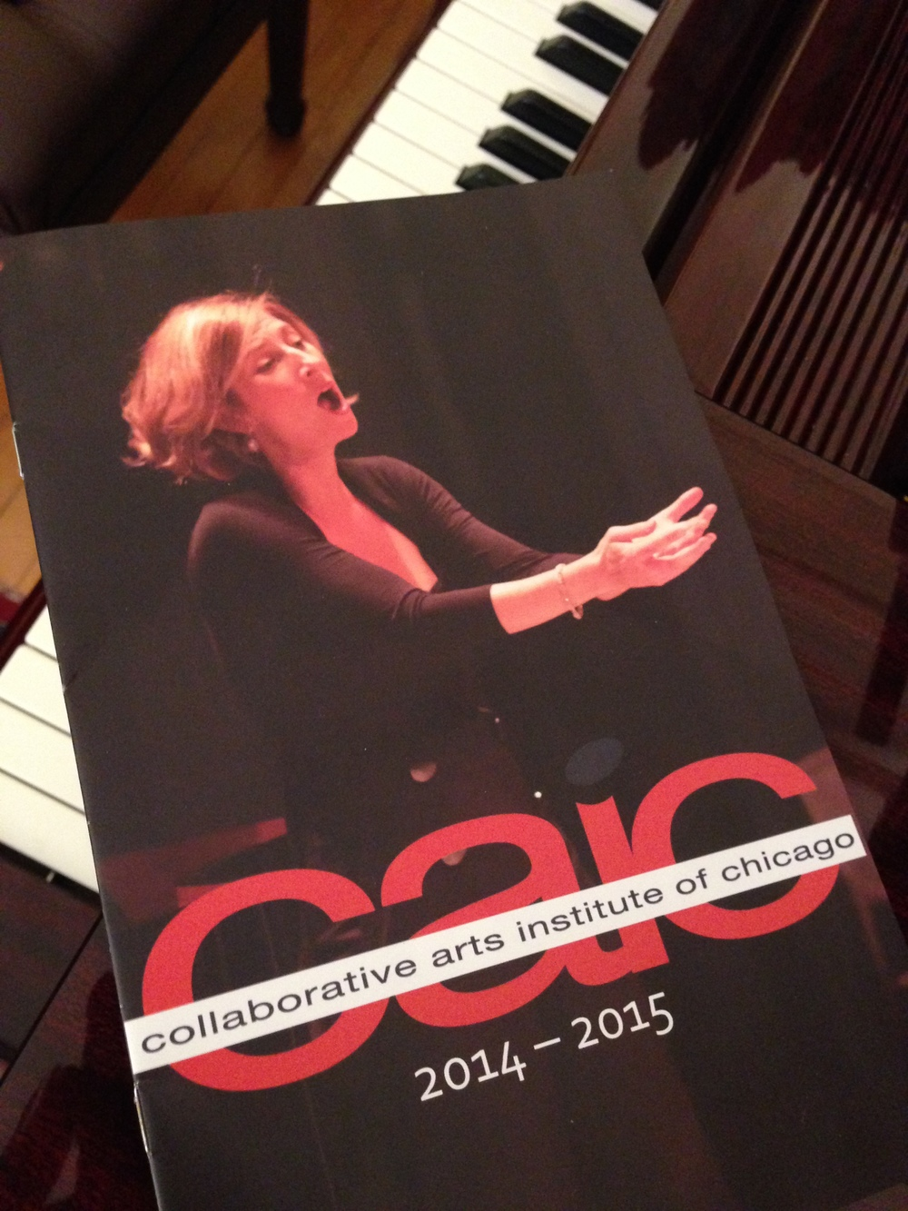CAIC's attractive new brochure for its 2014-2015 season.