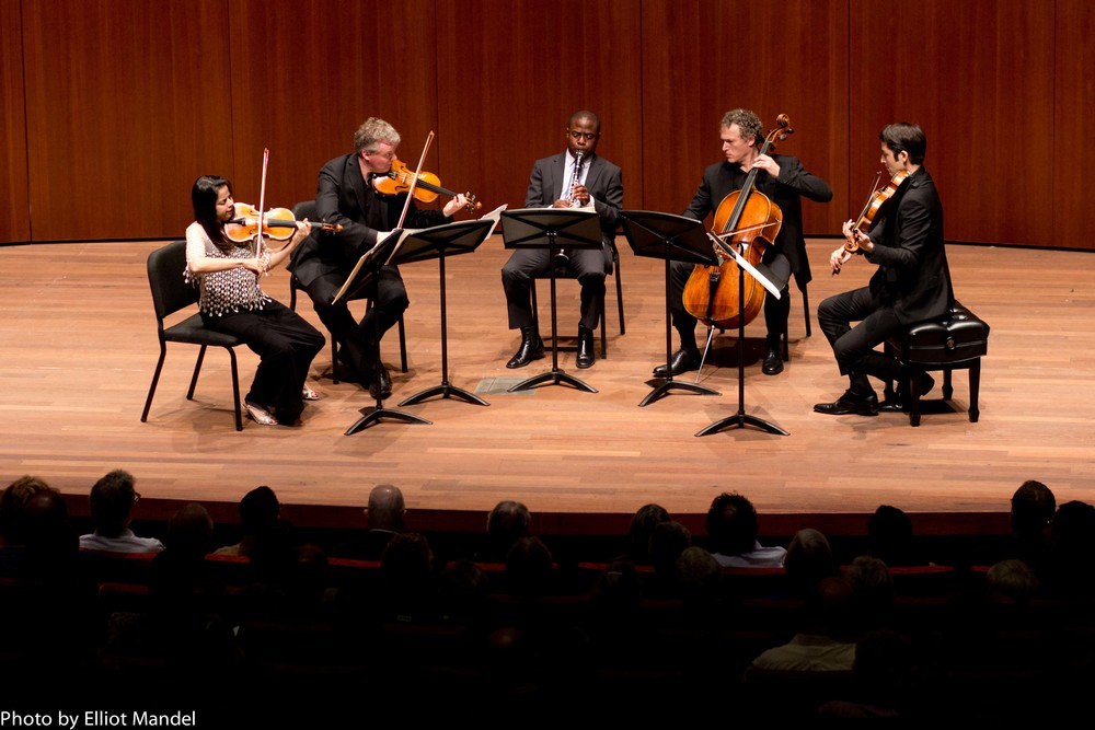 Pacifica Quartet and Anthony McGill