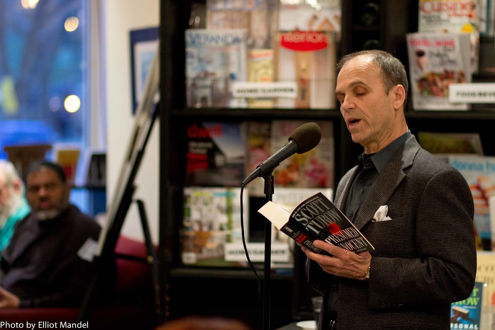 Scott Turow reading from Presumed Innocent.