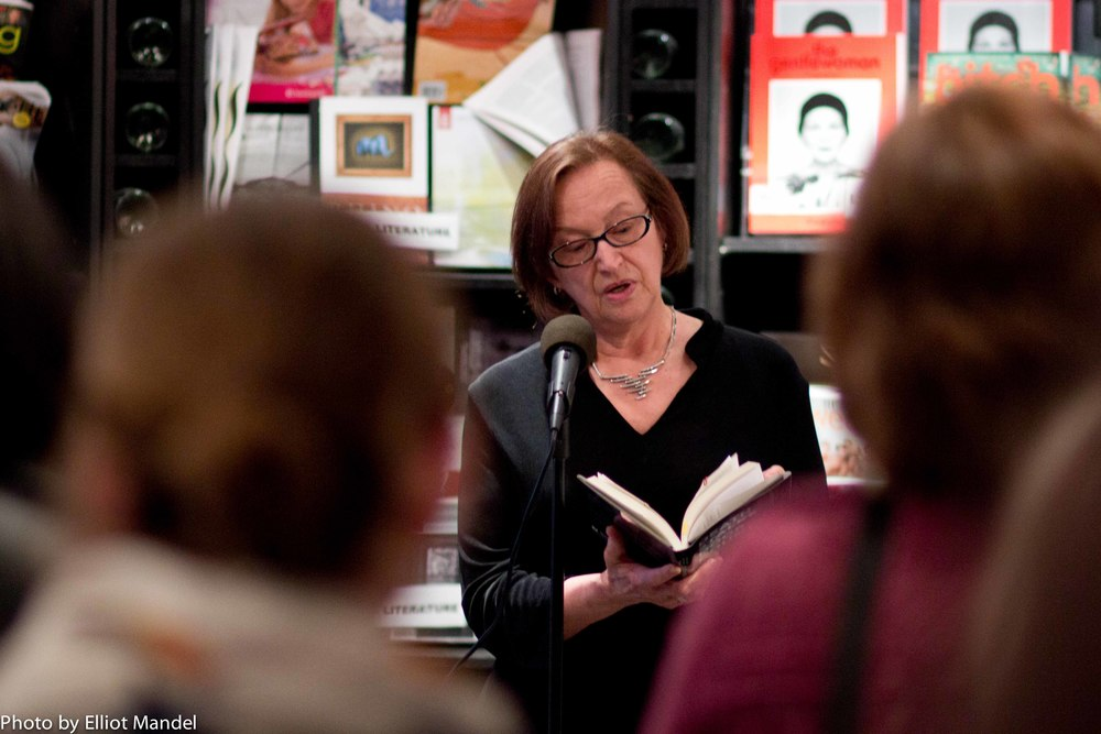 Patricia Skalka reads from her novel, Death Stalks Door County.