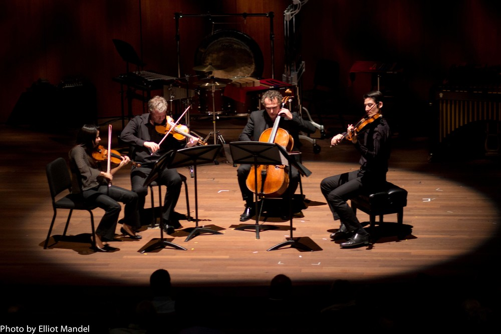 The Pacifica Quartet in the spotlight.