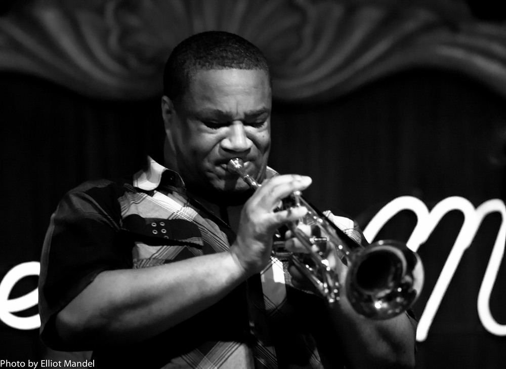 Pharez Whitted blows a mean trumpet at the Green Mill.