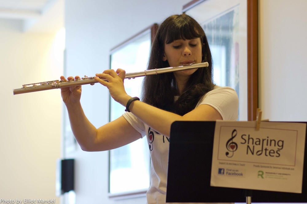 Flutist Laura Block