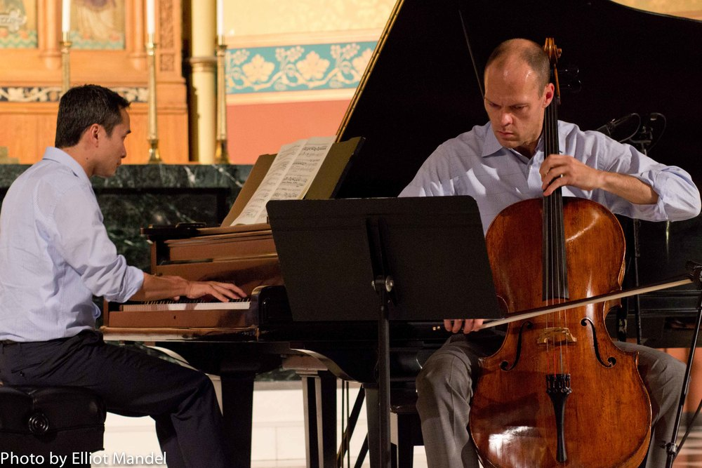 Brant Taylor and Kuang-Hao Huang play Beethoven.