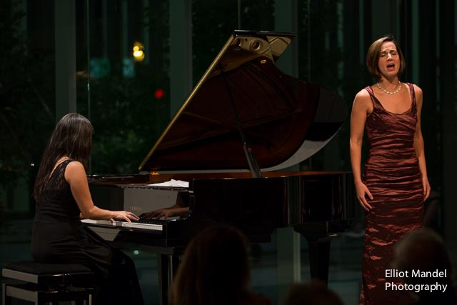 Mezzo-soprano Kelley O'Connor and Myra Huang