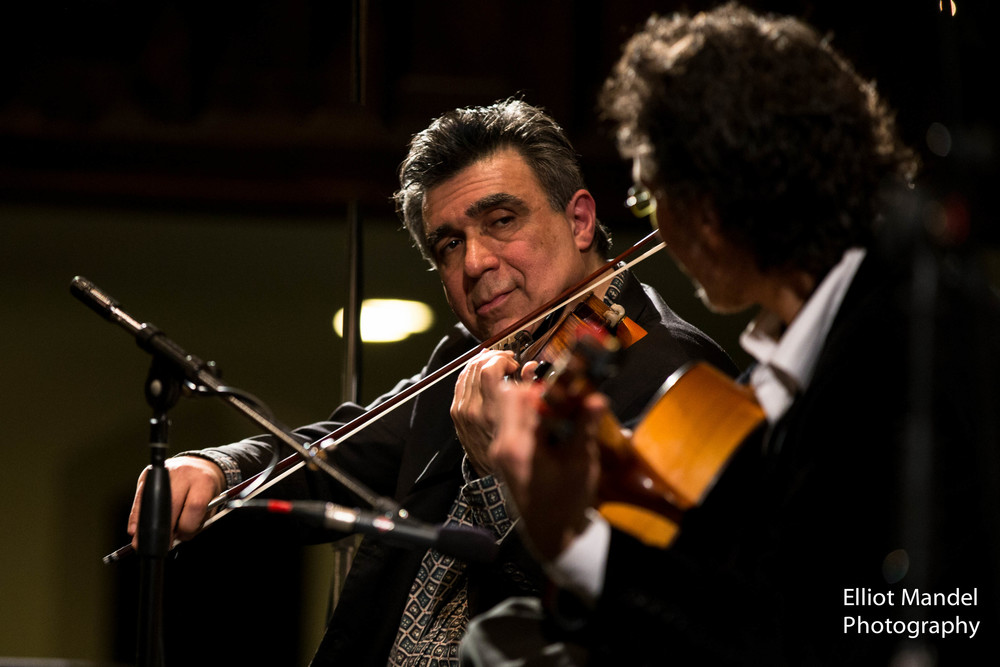 Steve Gibons (violin) with Alfonso Ponticelli and Swing Gitan