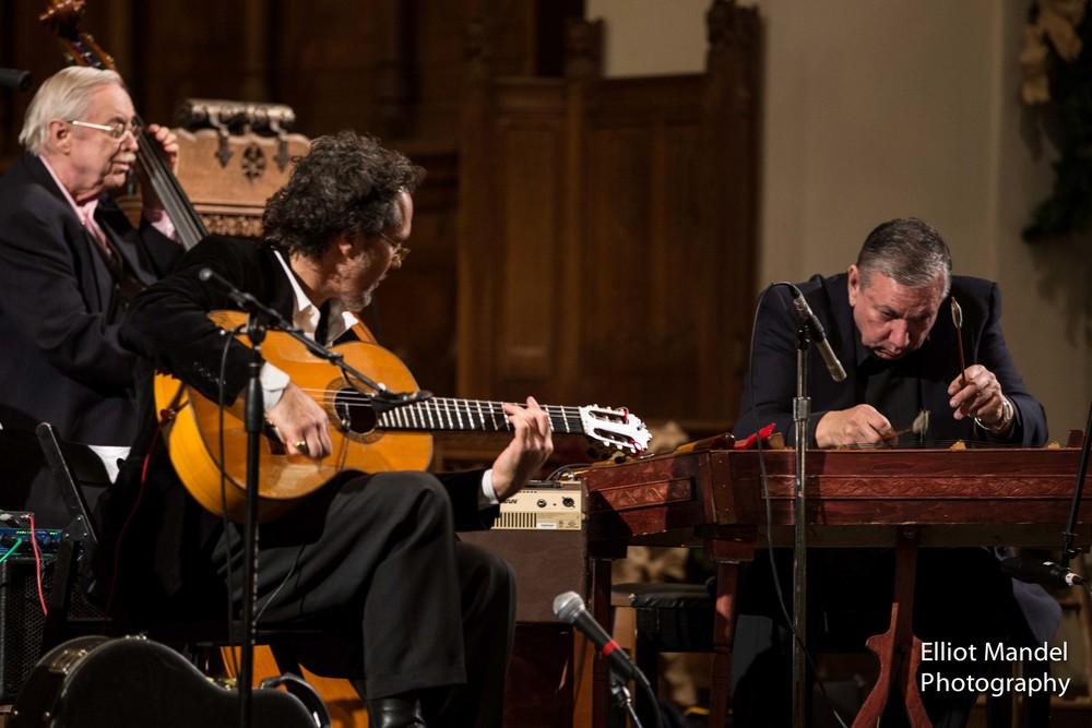 John Bany (bass), Alfonso Ponticelli, Alex Udvary (cimbalom)