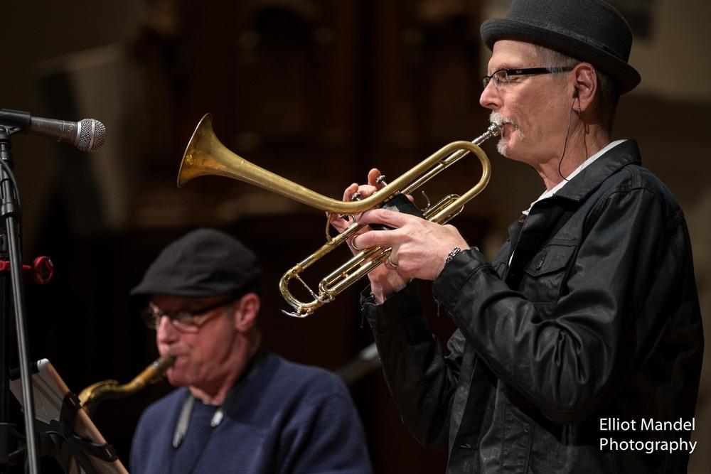 Steve Eisen (sax), Mark Ohlsen (trumpet)