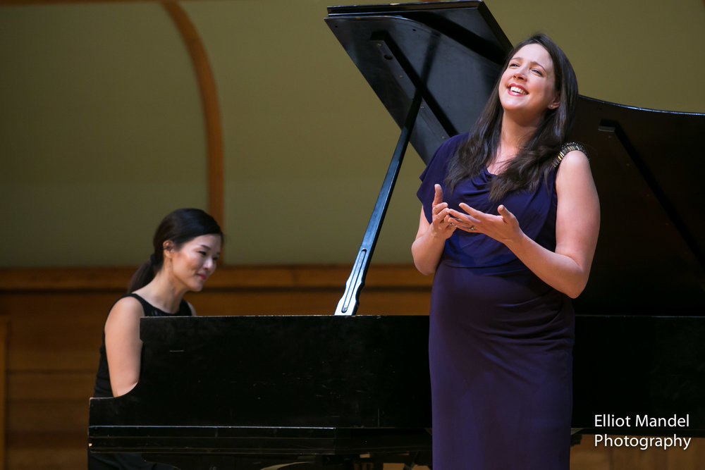 Susanna Phillips and Myra Huang give a glowing recital during the Collaborative Works Festival.