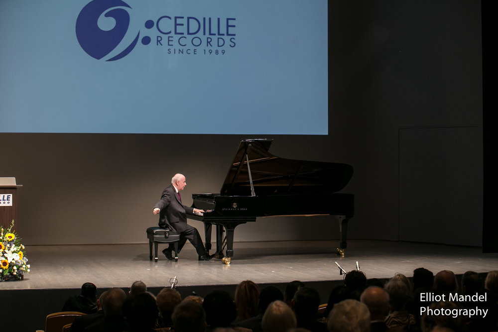 Jorge Federico Osorio plays Brahms for the Cedille Records gala.