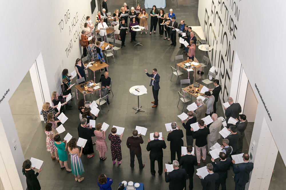 Bella Voce Gala at the Museum of Contemporary Art.