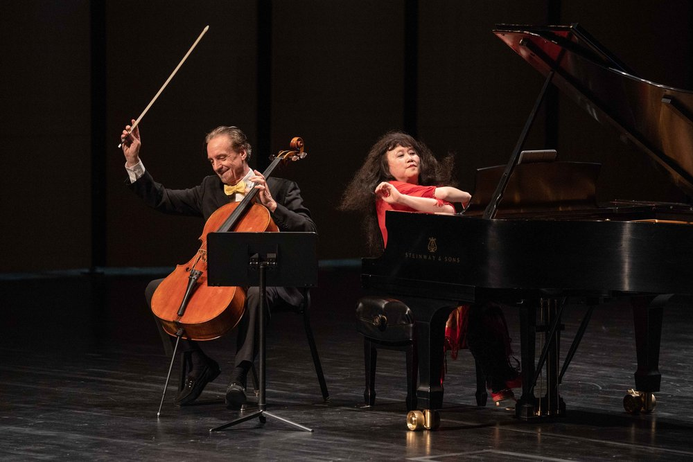 Cellist David Finckel and pianist Wu Han celebrate the Harris Theater's 15th Anniversary (Oct 3, 2018)