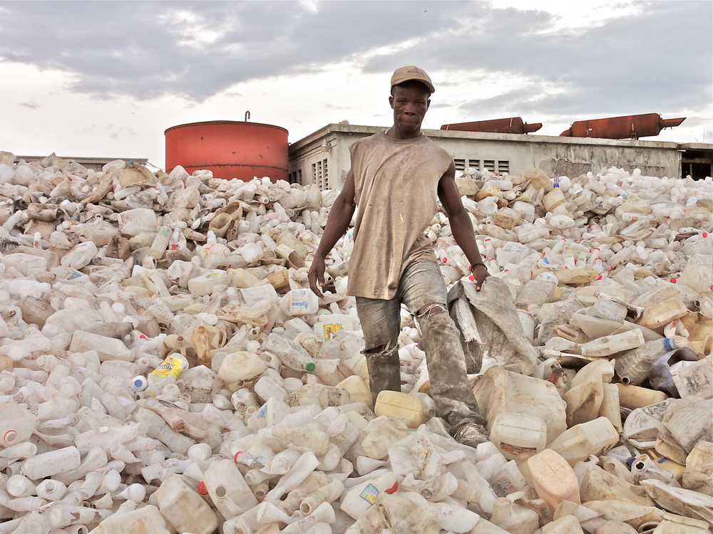 Turning waste into opportunity   SUSTAINABLE RECYCLING SOLUTIONS:HAITI   Learn More