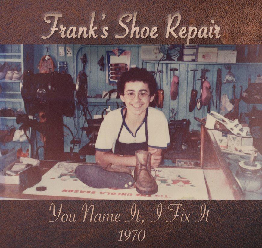 Summer of 1970 in the original location of Frank's Shoe Repair, 2728 13th Avenue