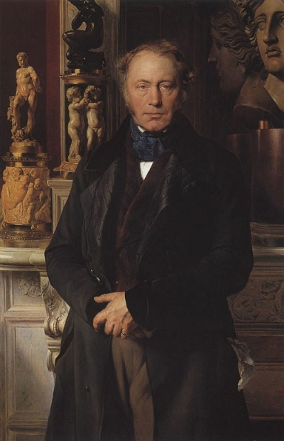 Portrait of the Comte    de Pourtalès   (1846), Musée du Louvre , Paris