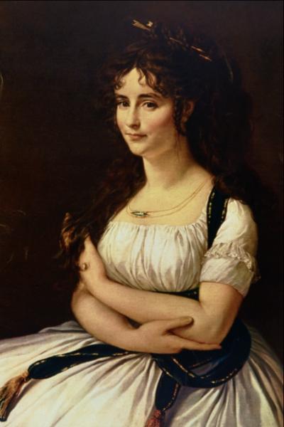 Portrait of Madame Pasteur ( 1796),   Musée du Louvre , Paris