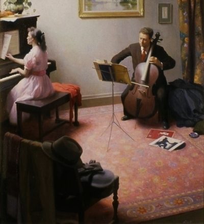 The Concert  (1961), Maryhill Museum of Fine Arts, Washington
