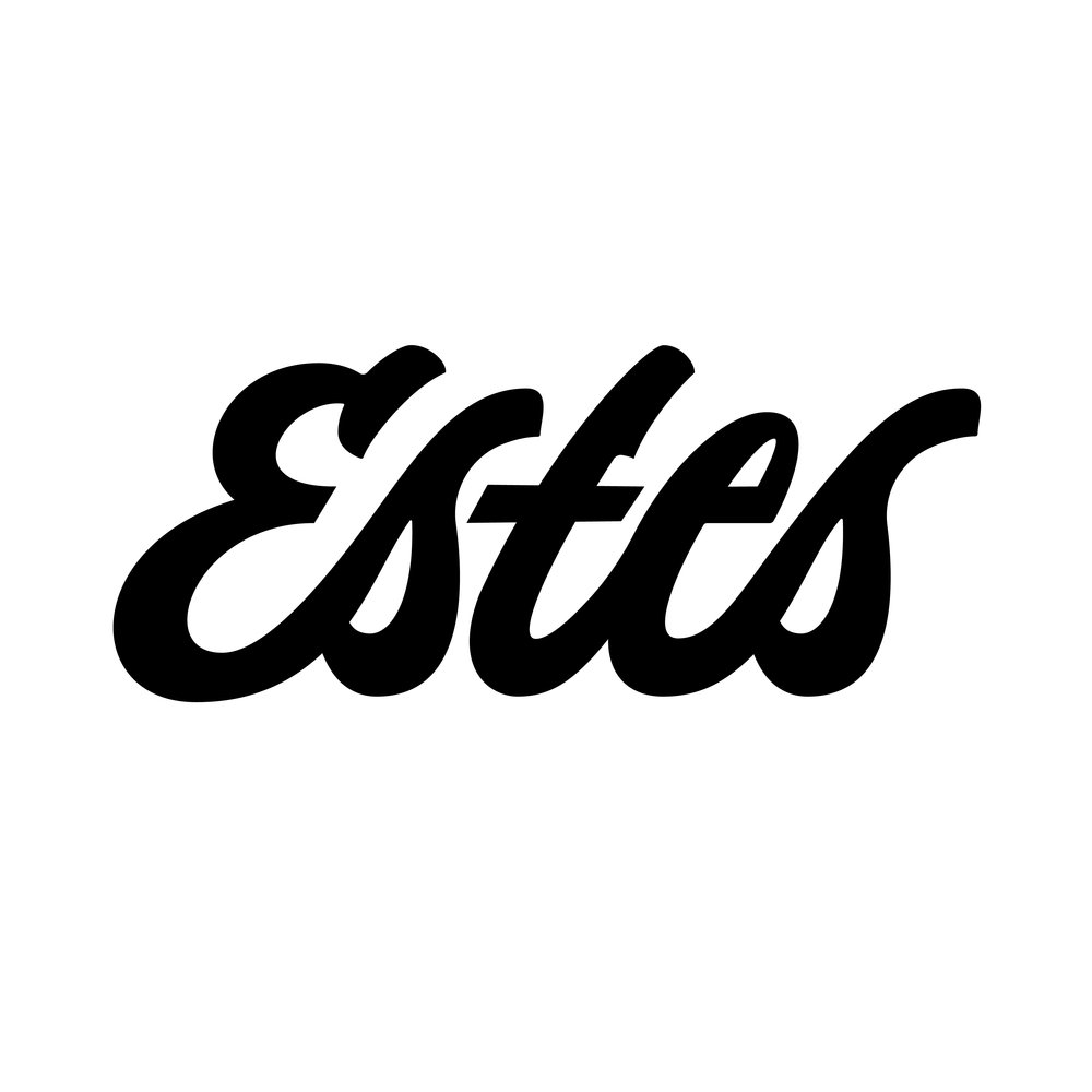 Estes-Retro-Logo-Black