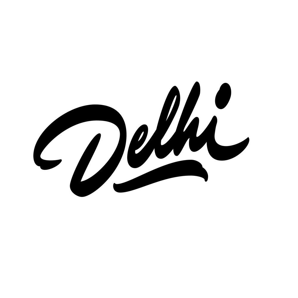 Delhi-Lettering
