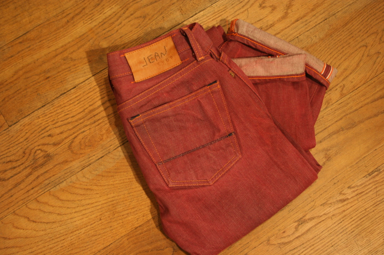 What's with all the ruckus over red selvedge? We've had some for a while now.  As usual, they're in here in the shop.