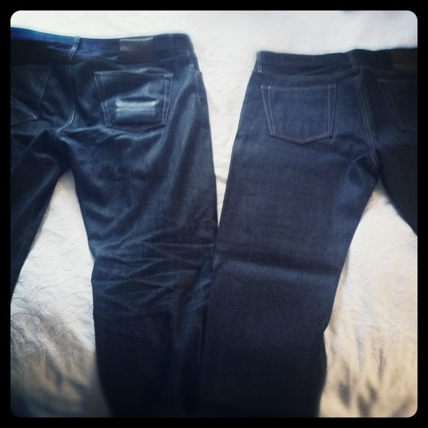 Nice. willullman: Jean Shop Rockers 6 Mos. vs. Jean Shop Rockers Brand New