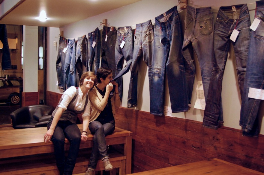 via: Natural Process: Event Recap Check out the Jean Shop jeans at this exhibition of worn denim in Philly…