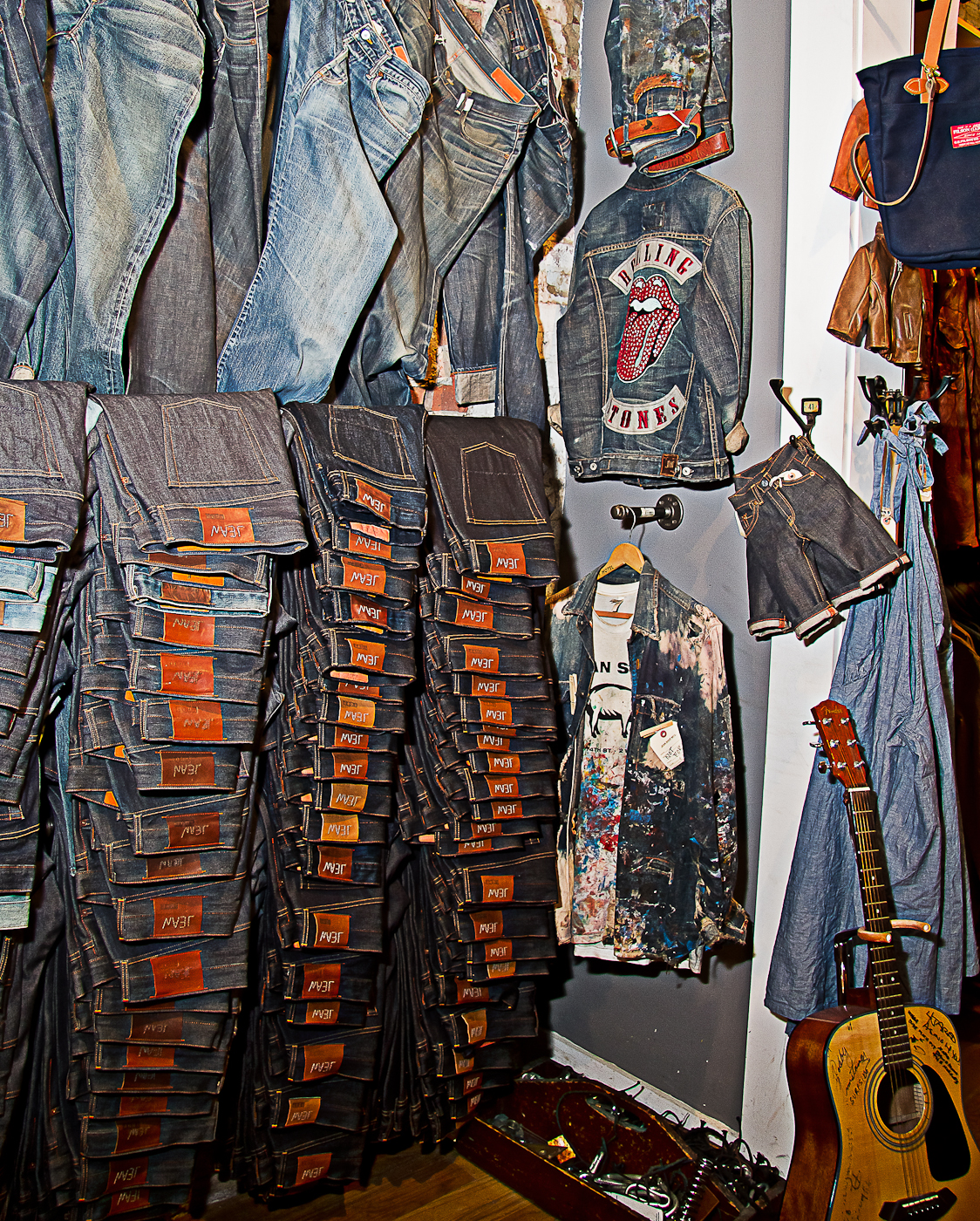 Jean Shop…..435 West 14th St, NYC  www.worldjeanshop.com  Photographer Elisa Hyman