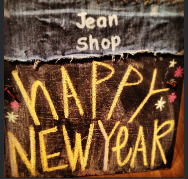Happy New Year from Jean Shop!