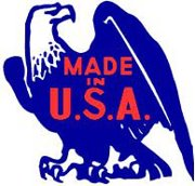 Made in the USA is so important. Why not help out and pay attention this Holiday season to country of origin when you shop? Let's support our friends and neighbors, let's keep the money in the USA. Buy Made in America………