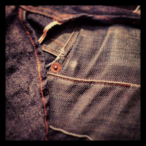 #jeanshop #jeanshopnyc #selvedge #japaneseselvedge #wearthepig #vintage #madeinamerica #wellworn (at jean shop)
