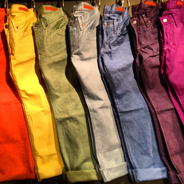 #color #wearthepig #jeanshopnyc #quality #summer #jeans (at Jean Shop)