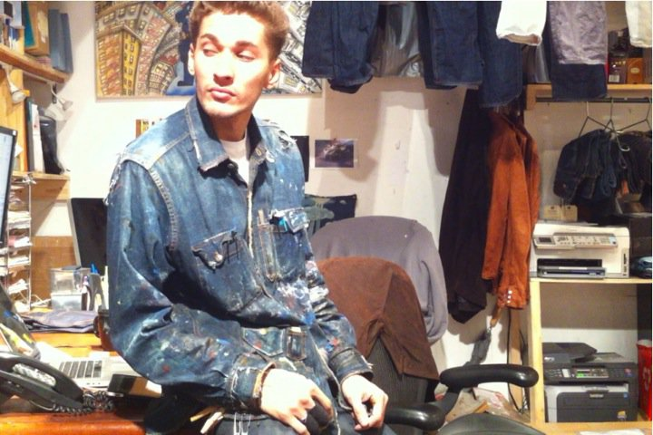 Alex, the guy we keep locked in the back of the 14th street store custom washing all of your jeans 24/7.