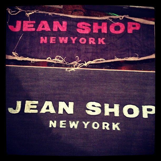 #wearthepig #jeanshopnyc #jeans #meatpacking (at jean shop)