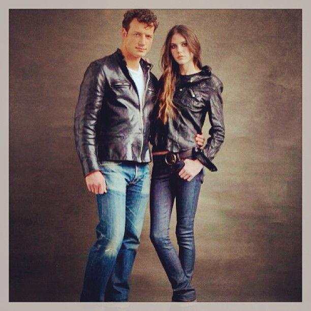 #jeanshop #jeanshopnyc #leather #vintage #greatshot #beautiful #motojacket #models #nyc