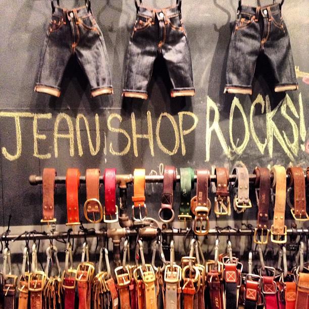 #jeanshop #jeans #belts #greatshot #nyc #meatpackingnyc #minijeans #custom #madeinusa #madeinamerica