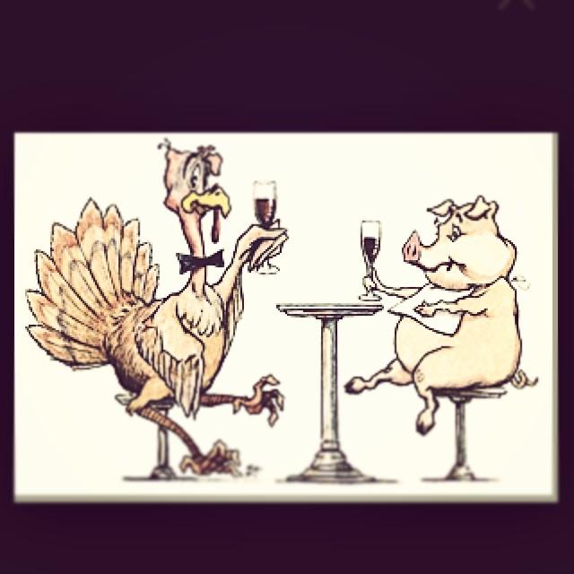 Happy Thanksgiving from our Jean Shop pig. #wearthepig #jeanshop #pig #thanksgiving #meatpacking #fashion #turkey #enjoy #jeans #denim #madeinamerica #selvedgedenim