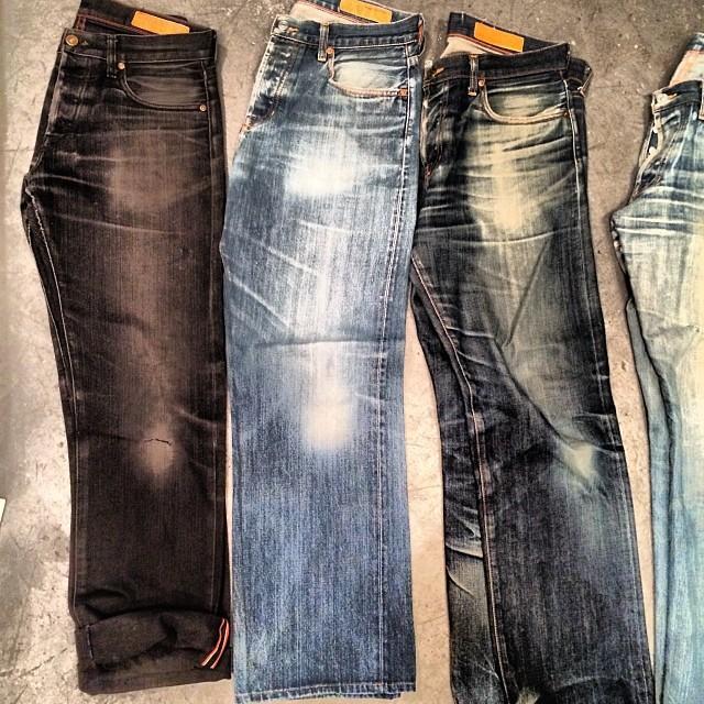 #jeans #jeanshop #fashion #fashionblog #fashiondiaries #japaneseselvedge #madeinamerica #madeinusa #denim #jeanshop #jeanshopny #vintage #weather #wearthepig