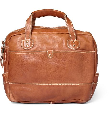 Our new leather briefcases are now available!